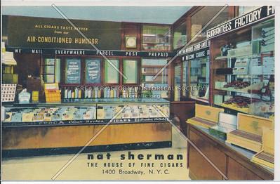 Nat Sherman Tobacco, 1400 B'way, NYC
