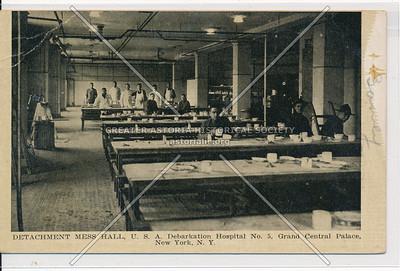 Mess Hall, Debarkation Hospital, Lex & 46 St, NYC
