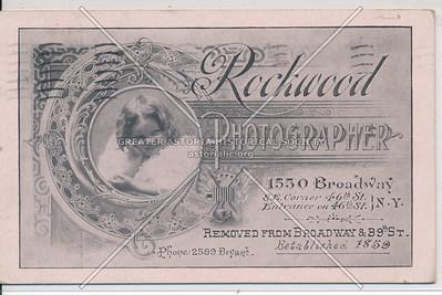 Rockwood Photography, 1550 B'way, S E cor 46 St, NYC