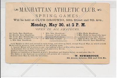 Manhattan Atheletic Club, 56 St & 8 Av, NYC