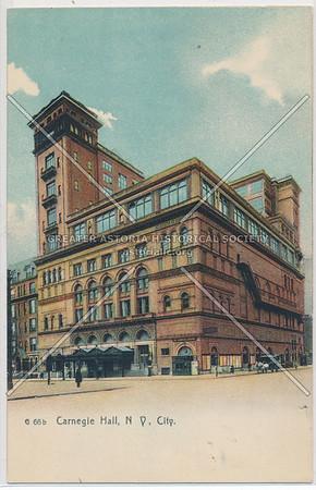 Carnegie Music Hall & Lyceum, NY