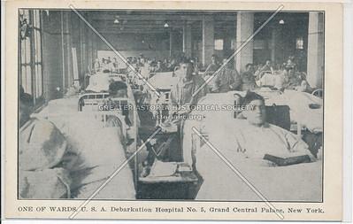 Ward, Debarkation Hospital, Lex & 46 St, NYC