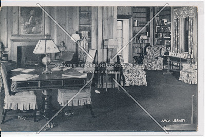 Library, American Womans Assoc, 353 W 57 St, NYC