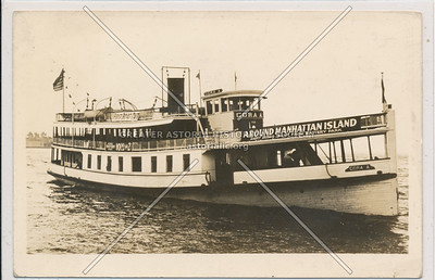 'Circle Line' Sightseeing Boats, NYC