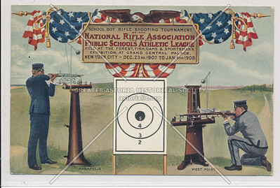 School Boy Rifle Shooting Tournement, Grand Central Palace, NY (1908)