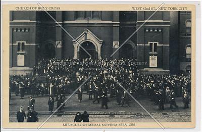 Church of Holy Cross, Novena Serv, W 42 St, NYC