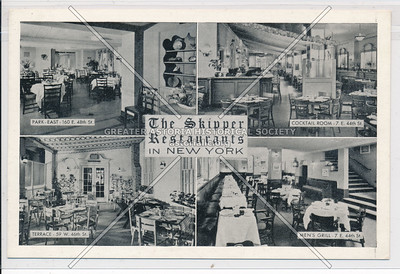 Skipper Restaurants, 160 E 48 / 59 W 46 / 7 E 44 St  NYC