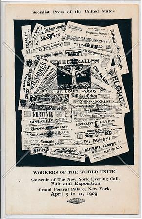 Socialist, NY Evening Call, Fair, Grand Central Palace, NYC (1909)