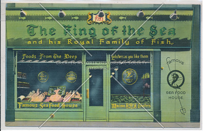 The King of the Sea, 53 St at 3 Av, NYC (1944)