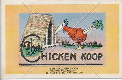 Chicken Koop, 37 W 58 St, NYC