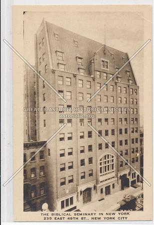 Bibical Seminary NYC, 235 E 49 St, NYC, NY