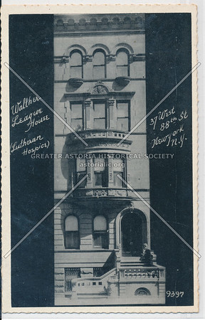 Walther League House, 37 West 88th St, NYC