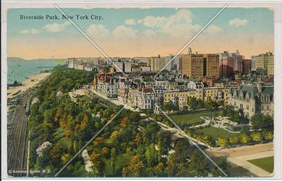 Riverside Park at 72 St, NYC (looking N)