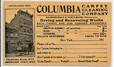 Columbia Carpet Cleaning, NYC