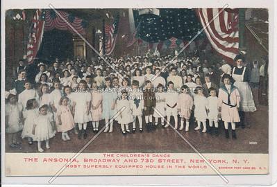 Children's Dance, Ansonia Hotel, B'way & 73 St, NYC