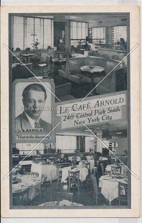 La Café Arnold, 240 Central Pk So, NYC