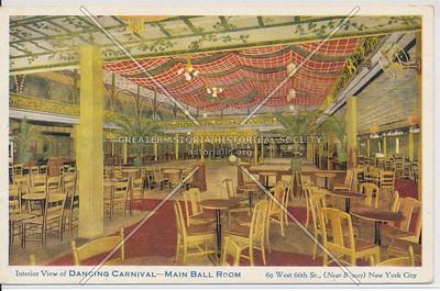 Dancing Carnival Ball Room, 69 W 66 St, NYC