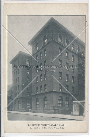 Florence Nightingale Hall, 37 E 71 St, NYC