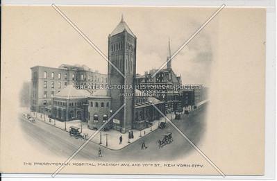 Presbyterian Hospital, Madison Ave & 70 St, NYC