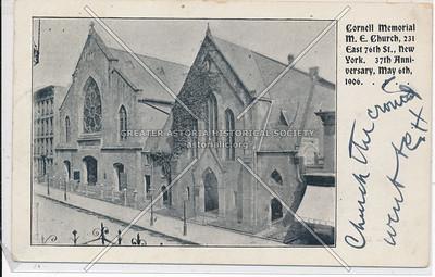 Cornell Memorial Church, 231 E 76 St, NYC