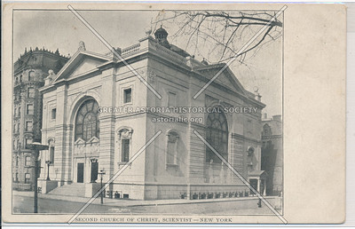 Second Church Christ Scientists, C.P.W. & 66 St, NYC