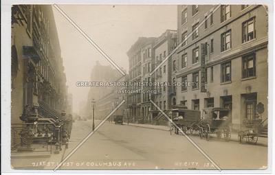 71 St W of Columbus Av, NYC