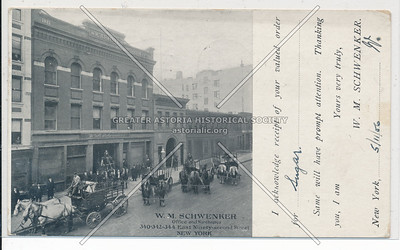W.M. Schwenker Office and Warehouse, 340-342-344 E 92 St, NYC