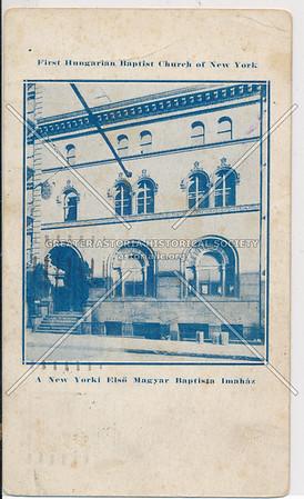 First Hungarian Baptist Church, NYC