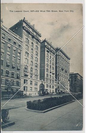 The Lasanno Court, 307 W 79 St, NYC