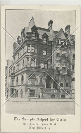 Semple School for Girls, 241 CPW, NYC
