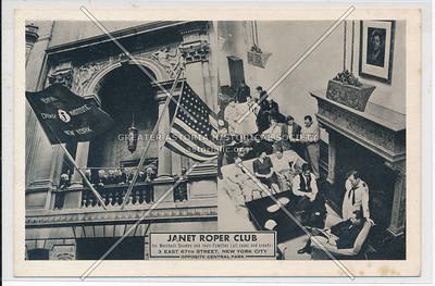 Janet Roper Merchant Seaman Club, 3 E 67 St, NYC