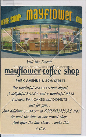 Mayflower Coffee Shop, Park & 59 St, NYC
