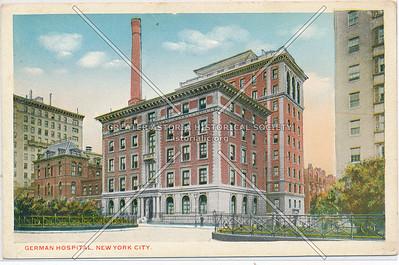 German Hospital, 77 St & Lex, NYC (Lennox Hill)