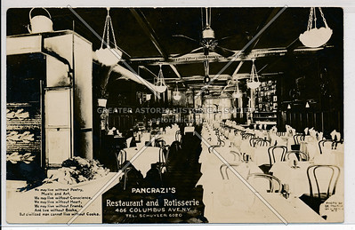 Pancrazi Restaurant, 486 Columbus Ave, NYC