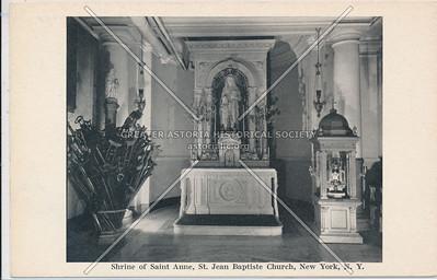 Shrine of St. Anne, St. Jean Baptist Church, NYC