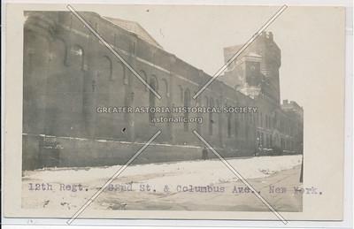 12 Reg. Armory, 62 St & Columbus Ave, NYC