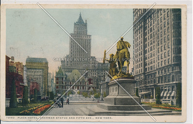 Sherman Monument, The Plaza, NYC