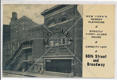 Lincoln Sq Theater, 66 St & B'way, NYC
