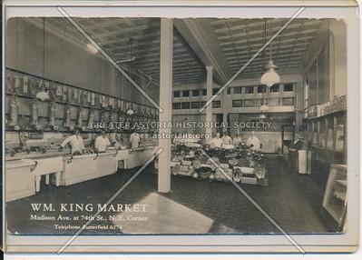 W M King Market, Madison Ave & 74 St, NYC