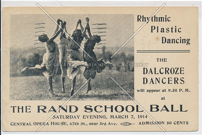 The Rand School Ball, Central Opera House, 67th St, NYC