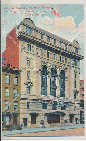 Musical Mutual Protective Union, 210 E 86 St, NYC