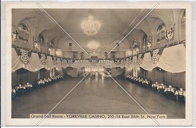 Yorkville Casino, 210 E 86 St, NYC back