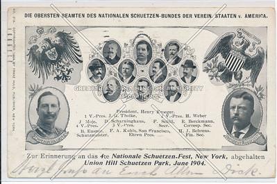 National Shoot, Union Hill, Scheutzen Park, NYC (1904)