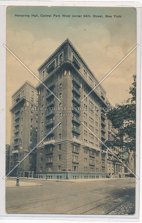 Harperley Hall, C P W & 64 St, NYC