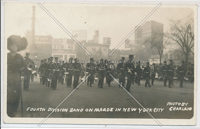 4th Div Band, Central Park West, NYC