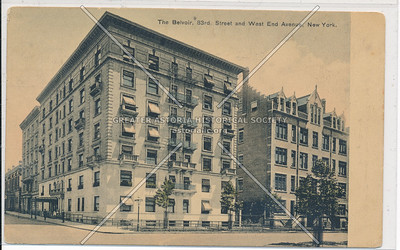 The Belvoir, 83 St & West End Ave, NYC