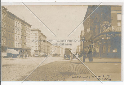 Avenue A (York Ave) & 84 St, NYC (north)