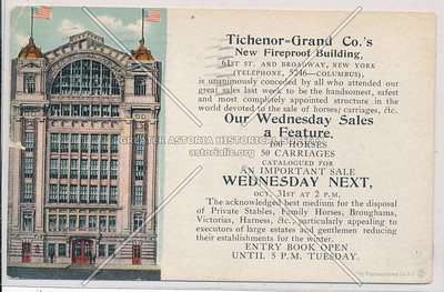 Tichnor-Grand Riding School, 61 St, NYC