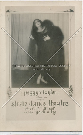 Peggy Taylor, Studio Dance Theater, 54 W 74 St, NYC