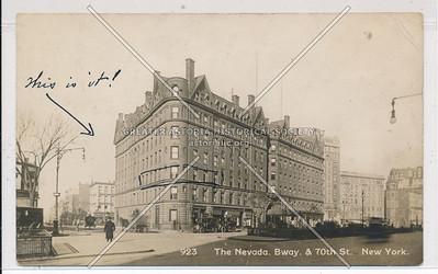 The Nevada, B'way & 70 St, NYC